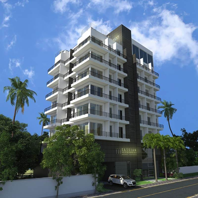 Elysian Residencies Mount Lavinia